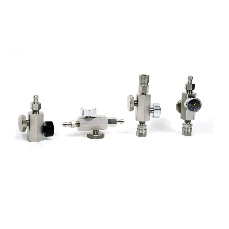 PCP Airforce Air Filling Adapter Escape Valves Quick Connect/PlugStainless Steel BLVPP01