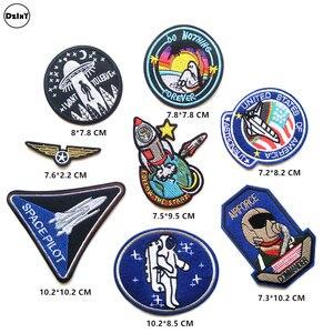 Image 2 - (30 Differents Packs können Wählen) Stickerei Parches Eisen auf Patches für Kleidung DIY Streifen Kleidung Aufkleber Appliques Abzeichen