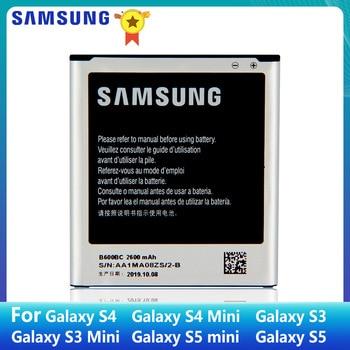 SAMSUNG Original Battery B600BC B600BE B600BK B600BU For Samsung GALAXY S4 I9500 S3 S3 MINI B500BE S4 MINI S5 S5MINI EB-BG800CBE аккумулятор для телефона ibatt ib samsung galaxy s5 mini m762
