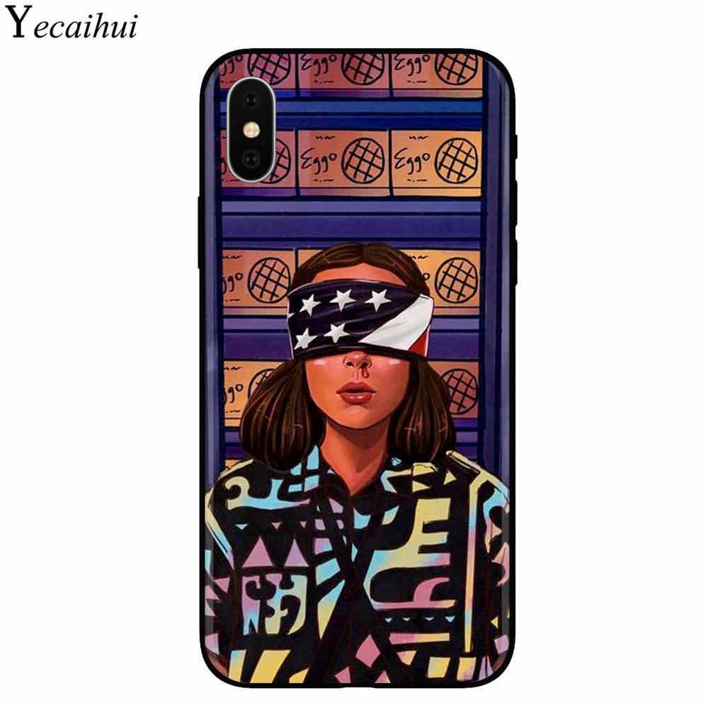 Extraño cosas TEMPORADA 3 2019 caja del teléfono para iPhone X XR XS MAX 6 7 8 plus 5 5S 6 funda negra de silicona suave s se para Apple