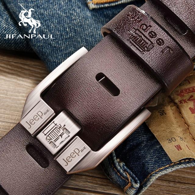 JIFANPAUL Genuine Leather Luxury Belt 1