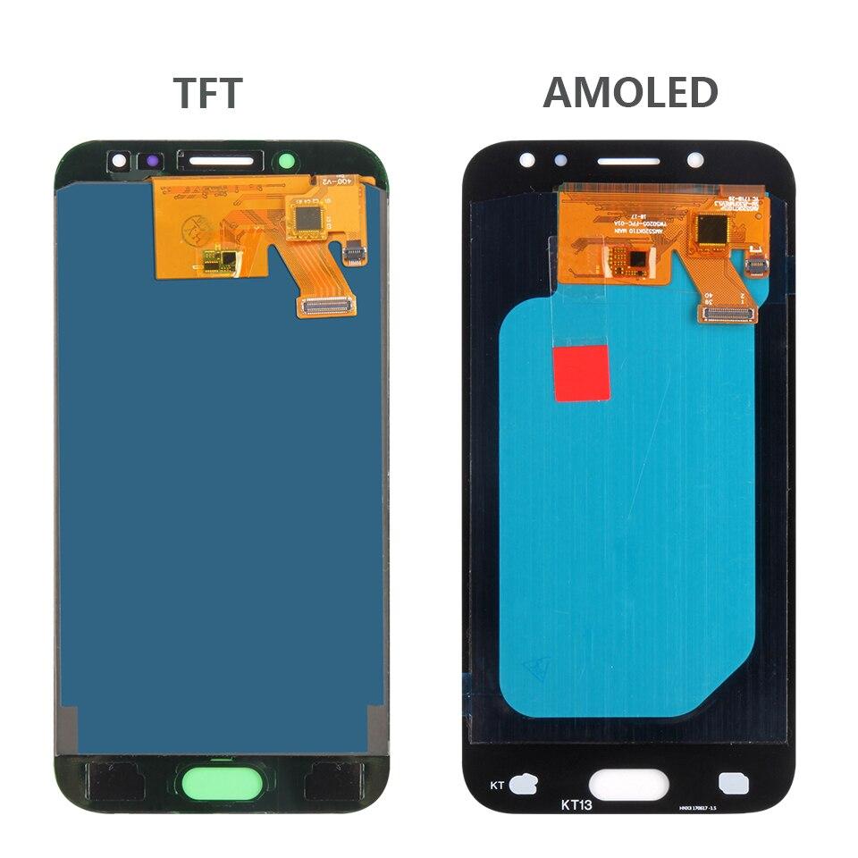 H53bd697624324fee8f2191f9401c6677a AMOLED/TFT J530F LCD Screen For Samsung GALAXY J5 2017 Display J530 LCD SM-J530F Display Touch Digitizer Glass J5 2017 LCD