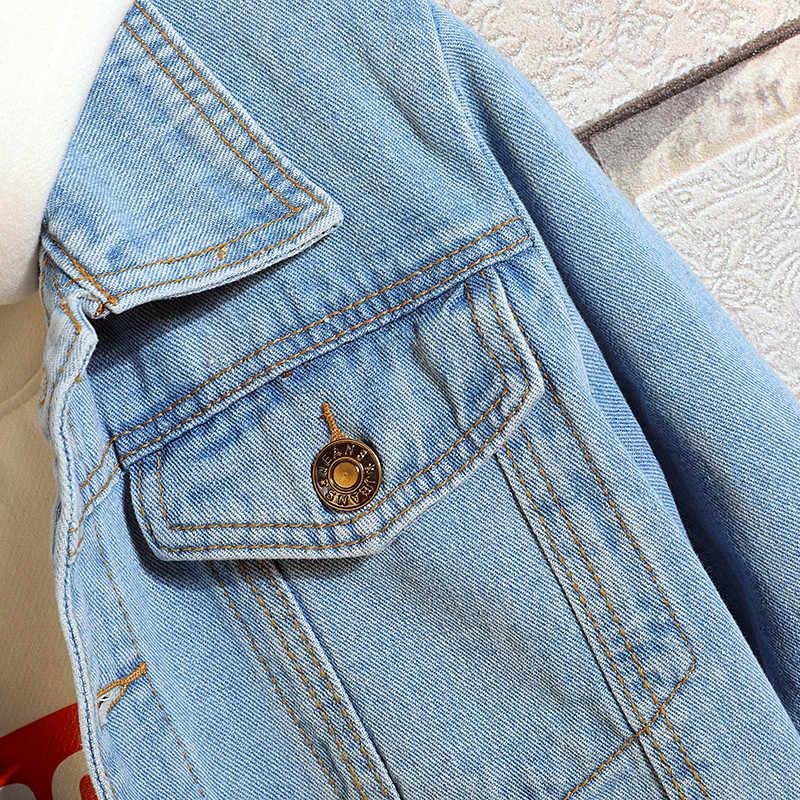 Sonbahar Denim ceket erkekler katı kovboy bahar Casual Slim bombacı ceket erkek Jean erkek mont ve ceketler dış giyim artı boyutu 4XL
