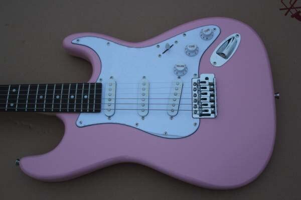 Factory custom shop New Custom Pink ST electric guitar Rosewood Fingerboard Free shipping HAI 4