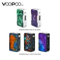 Оригинальный VOOPOO DRAG 2 177W TC коробка мод электронная сигарета и Drag 157W коробка мод Vape w/US GENE chip no 18650 Батарейный блок мод vs Shogun