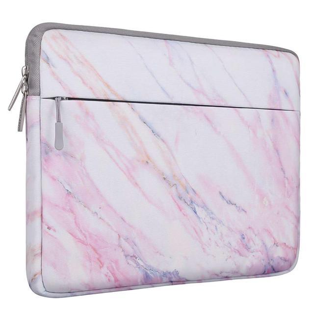 Pink Marble Laptop Sleeve Bag 1 1