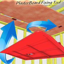 2pcs Drywall Fitting Tool Plasterboard Fixing Equipment Ceiling Positioning Plate Tools Kit Room Ceiling Sloped Walls Ornament