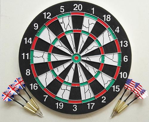 Darts Target Champion Darts Board Flight Multiple Styles Double-sided Flocking Darts 18 Inches Target Plate New Dart Accessories