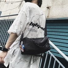 Bag Cylinder Japanese Chain Messenger-Bag Diagonal-Bag Casual Fashion-Brand Badge Hot's