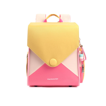 Rainbow Girl Backpack Kids  Primary School Children Girls 6-12 Years Old Fashion Bags for Toddlers - discount item  50% OFF School Bags