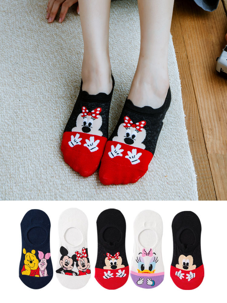 Ankle-Socks Fox Animal Funny Cat Dropship Cotton Cartoon Women Summer Cute 5pairs/Lot