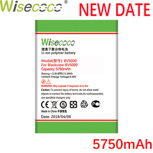 Wisecoco 2 PCS/LOT BV5000 5750mAh New Powerful Battery For Blackview BV 5000 Phone Replacement + Tracking Number