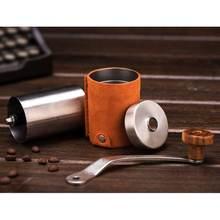 Ручная кофемолка мельница с большой емкостью ручная рукоятка