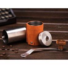 Manual Coffee Bean Grinder Mill Large Capacity Hand Crank Portable Travel Camping Adjustable Multifunction Grinding  U1JE