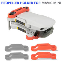 Titular do motor da hélice para dji mavic mini drone lâmina fix adereços protetor de silicone capa para dji mavic mini 2 zangão acessórios