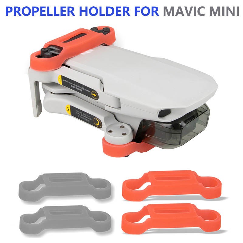 Propeller Motor Holder For DJI Mavic Mini Drone Blade Fixed Props Protector Silicone Cover For DJI Mavic Mini Drone Accessories