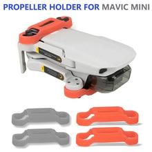 Propeller Motor Holder for DJI Mavic Mini Drone Blade Fixed Props Protector Sili