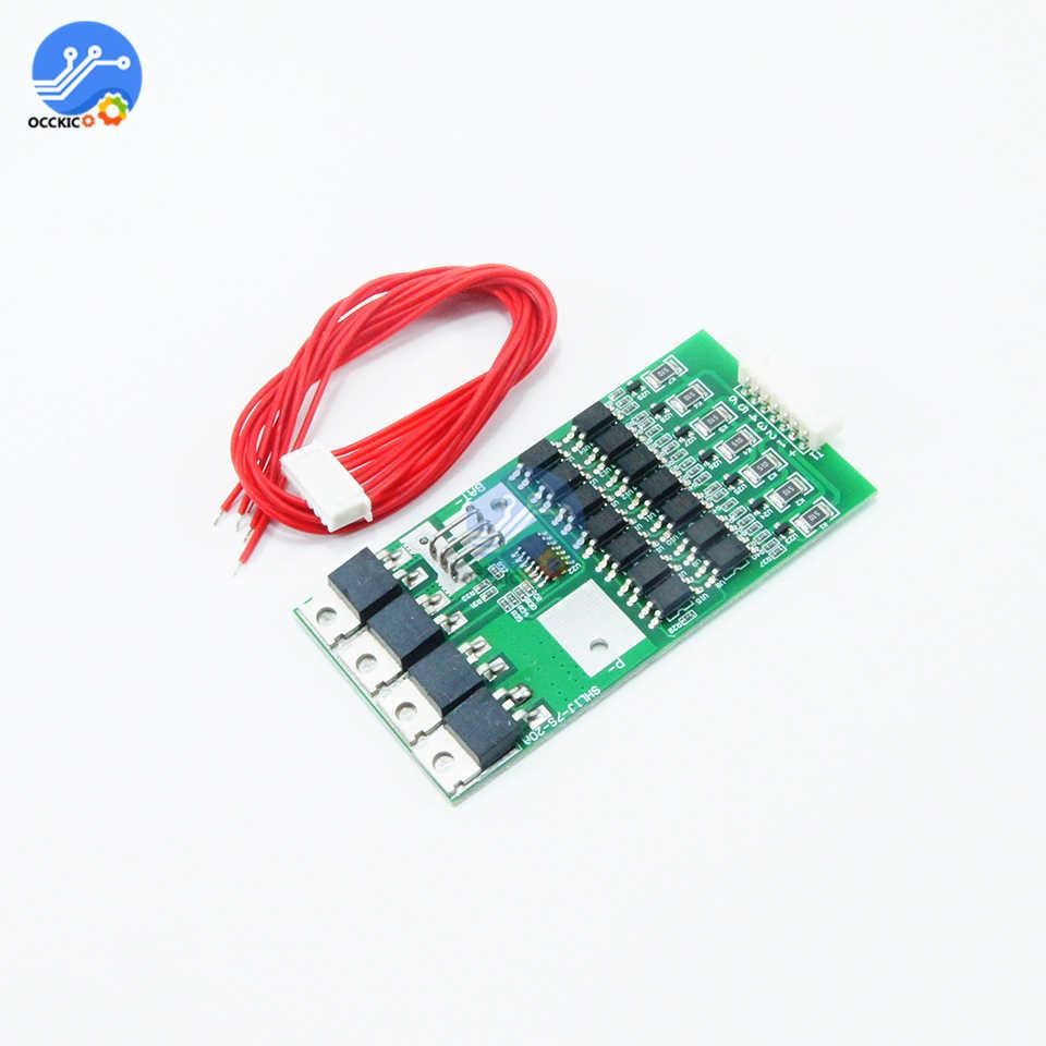 7s Cells 20A 24V W//Balancing Li-ion 18650 Battery BMS Protection Board L2KD