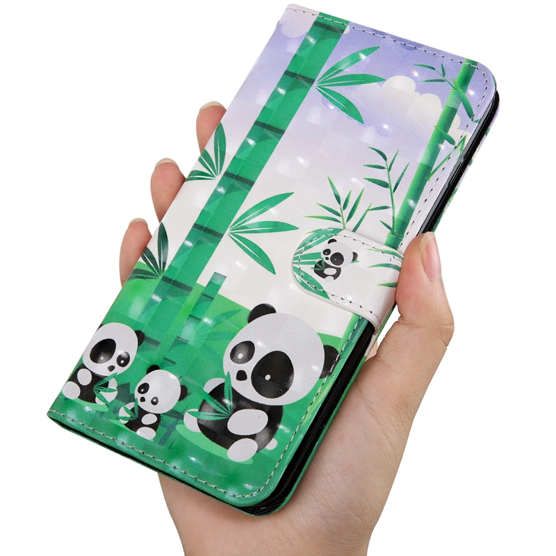 Flip Book Case For Coque Samsung Galaxy J5 2016 Cute Cat Panda Leather Wallet Phone Cover For Samsung J5 2016 J510 Case Etui