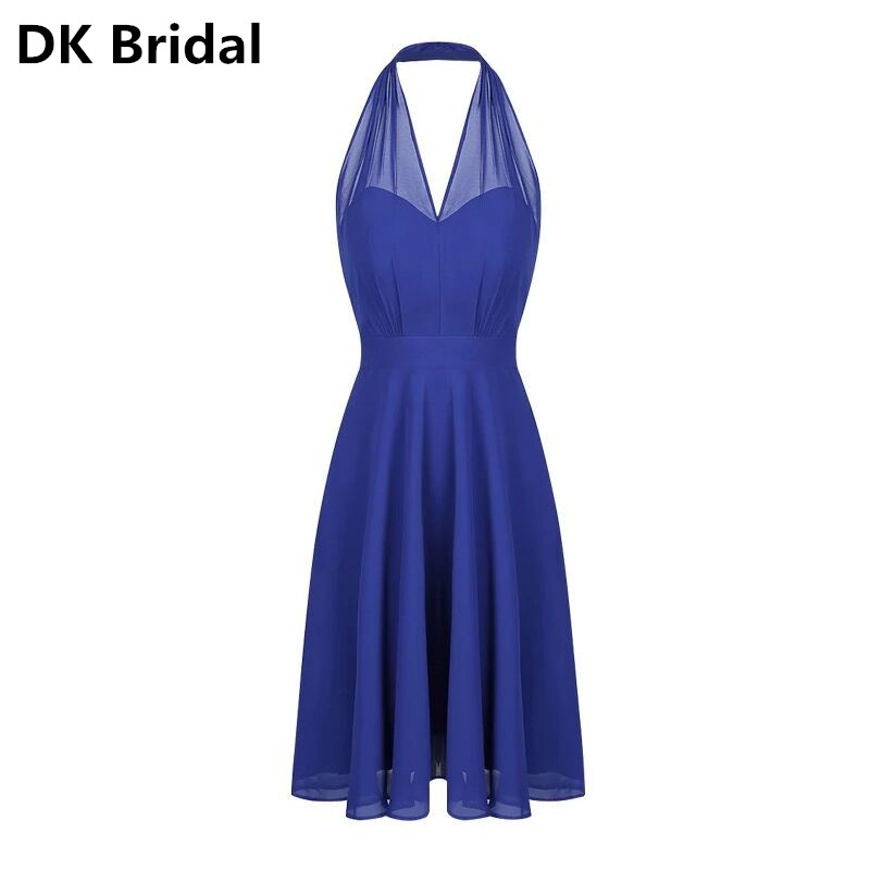 La La land <font><b>Sexy</b></font> Royal Blue <font><b>Dress</b></font> Cosplay Costume <font><b>Sexy</b></font> Party Evening <font><b>Dresses</b></font> Backless V-Neck Halter <font><b>Women</b></font> <font><b>Dress</b></font> <font><b>Halloween</b></font> <font><b>Dress</b></font> image