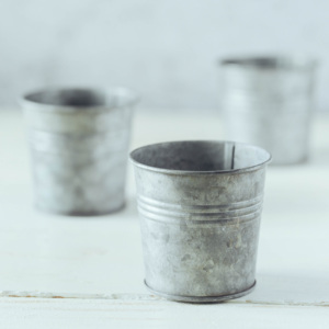 Image 4 - Retro Round Small Iron Cup Vintage Series Food Photography Props