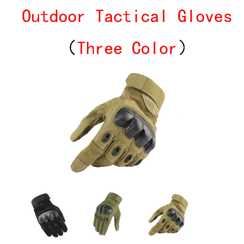 Outdoor Climbing Adventure Gloves Fitness Training Non-slip Protective Full Finger Gloves Tactical Army Fan Touch Screen Gloves