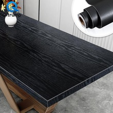 Waterproof Thickening 3D Wood Wallpaper Self Adhesive Wall Stickers Living Room Kitchen Cabinet Furniture Decor Home Improvement