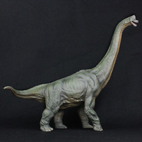 41CM Big Brachiosaurus Jurassic Animal Model Prehistoric life Monster Dinosaur Model ToyS Decorate Gifts for Children