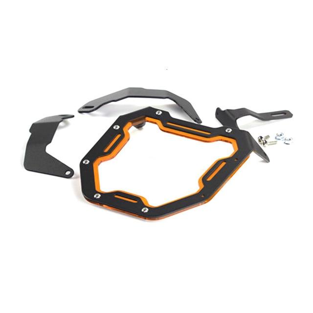 Motorcycle Head Light Mask For Honda Zoomer X110 Headlight Aluminum Alloy Protect Shield Motor Accessories 2