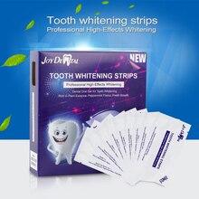 14pcs/box  3D Gel Teeth Whitening Strips White Tooth Dental kit Oral Hygiene Care Strip