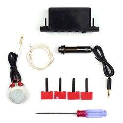 Акустическая гитара звукосниматель резонансные звукосниматели система предварительного усиления с перезаряжаемой батареей аксессуары д...