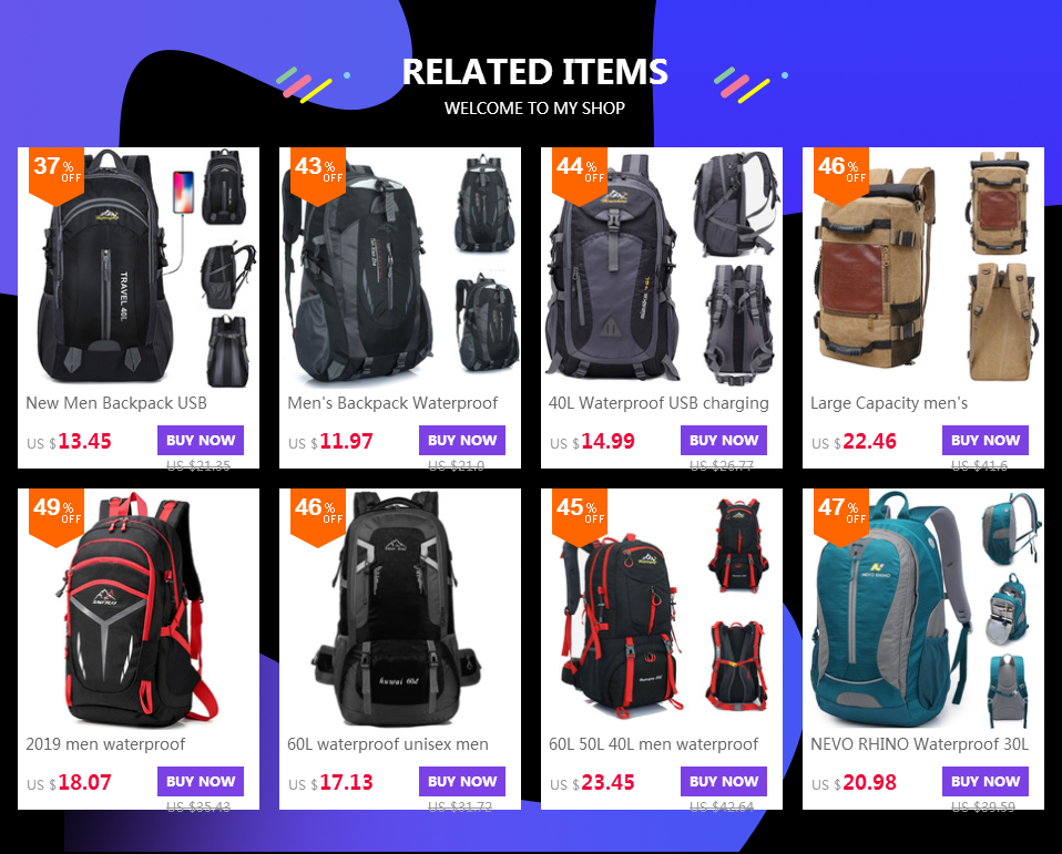 pack for Outdoor backpack 2