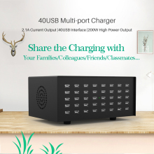 Smart 28 port usb Charger for iphone 8 7P 6s XR Xiaomi LG Samsung s9 Power Adapter multi Socket Fast Charging Universal Hub