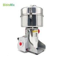 Biolomix pulverizer 2KG Swing Type Electric pulverizer Grains Herbal Cereals Dry Food Grinder Flour grinder Miller Crusher