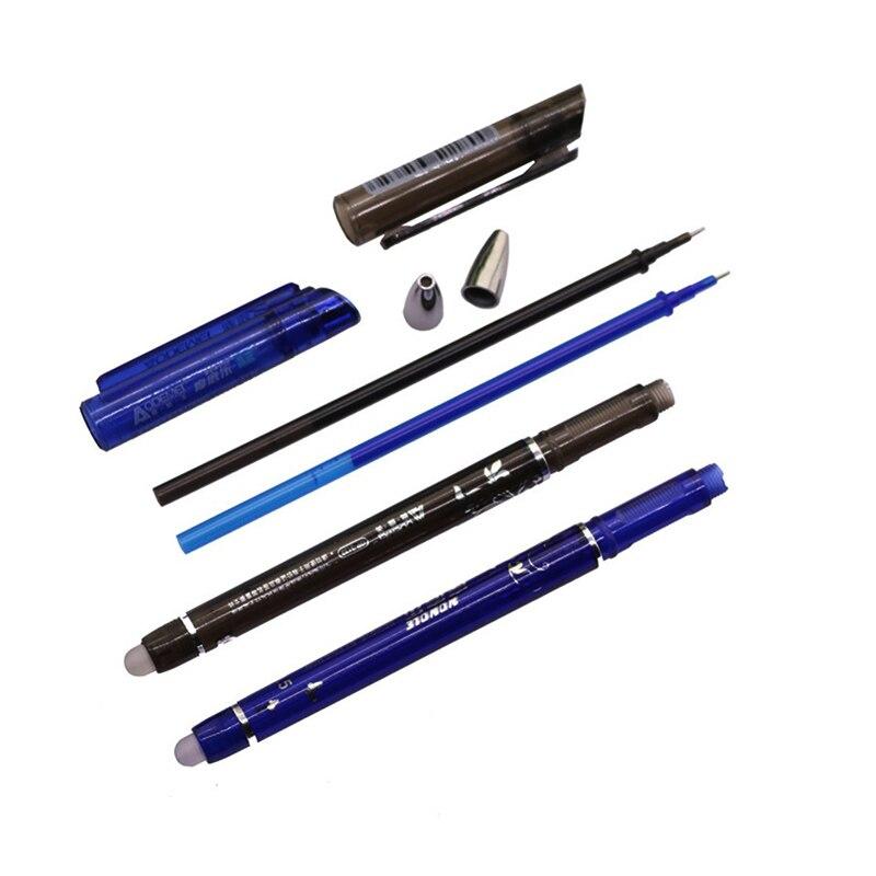 144 Pcs Magic Gel pen 0.5mm Four-color refill Erasable Pen Stationery Gift Pen Promotion Pen Length 150mm Student Office 6