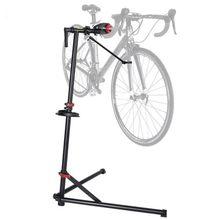 Support d'entretien de vélo de route vtt, cadre d'affichage de stationnement, cintre à quatre angles avec suspension de plateau de réparation