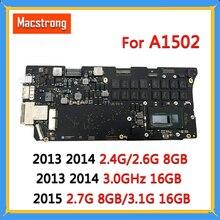 """נבדק A1502 האם i5 2.7G 8GB/3.1G 16GB עבור MacBook Pro רשתית 13 """"A1502 היגיון לוח 820 3476 A 2013 2014 2015 820 4924 A"""