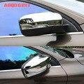 ABS хромированное зеркало заднего вида  зеркало заднего вида  литье под давлением  чехлы для Volvo XC60 2014-2017  аксессуары для стайлинга автомобиле...