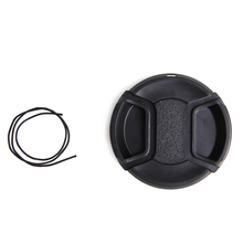 58mm Front Lens Cap Cover Snap-on for Sony Nikon Olympus Pentax Panasoni Fuji 67mm universal plastic lens cap for sony pentax fuji camera black