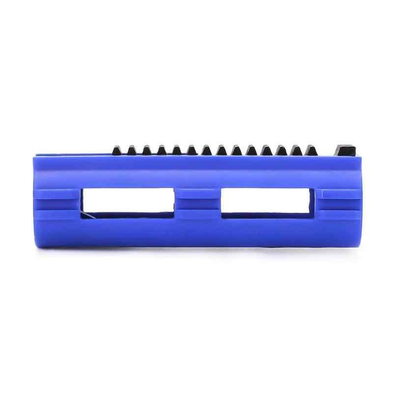 رائجة البيع SHS الأزرق الألياف عززت كامل الصلب 14 الأسنان المكبس ل Airsoft M4 AK G36 MP5 علبة التروس Ver 2/3 AEG ملحقات المسدس