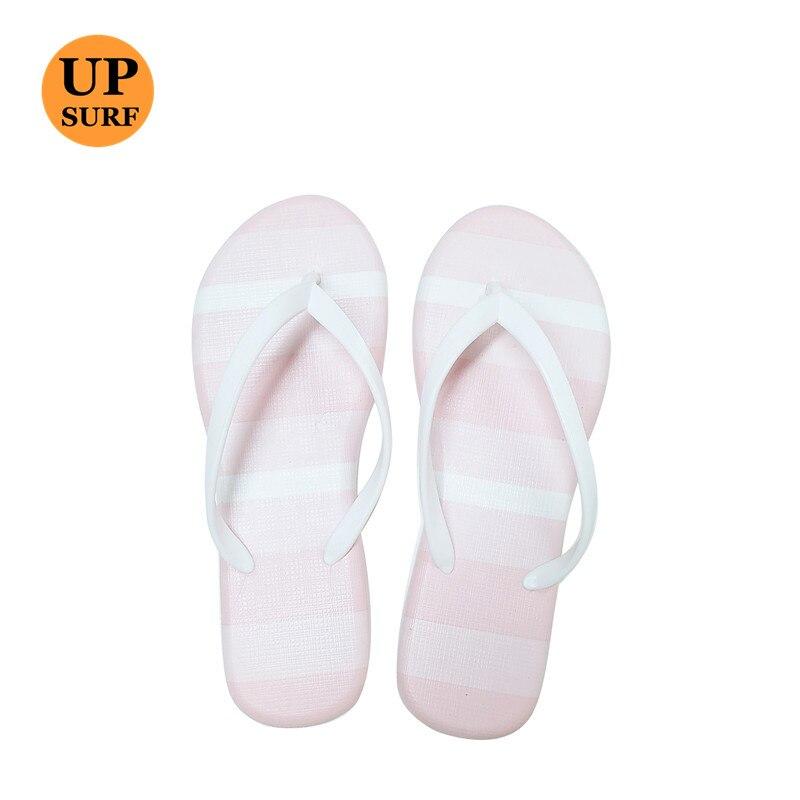 Women Designer white spot blue Flip Flops Slippers Beach Sandals Summer Shoes 2018 Pool Shower