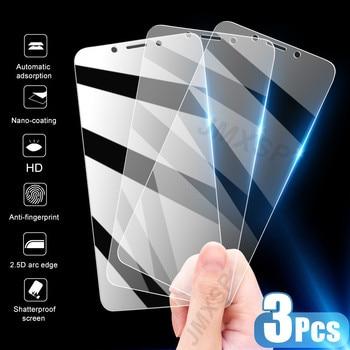 3Pcs Tempered Glass Xiaomi Mi 8 9 SE Lite 9T Screen Protector Glass on Xiaomi Mi A2 A3 Lite A1 Play X3 NFC Protective Glass Film