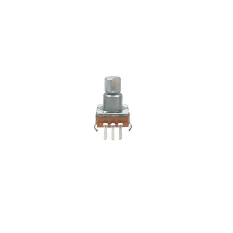 50pcs/lot EC11 thin encoding switch 30 posioning number 15 pulse axial length encoding potentiometer 10MM power amplifier