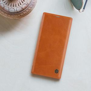 Image 5 - Nillkin מקרה עבור סמסונג הערה 10 בתוספת כיסוי בציר רך עור מפוצל מלא כיסוי Case Flip עבור Samsung Galaxy הערה 10/10 + מקרה