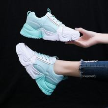 Womens Sneakers Shoes 2018 Fashion Breathable Woman Woman-shoes Tennis Female Women's Heels Designer Mesh Woman's Casual(China)