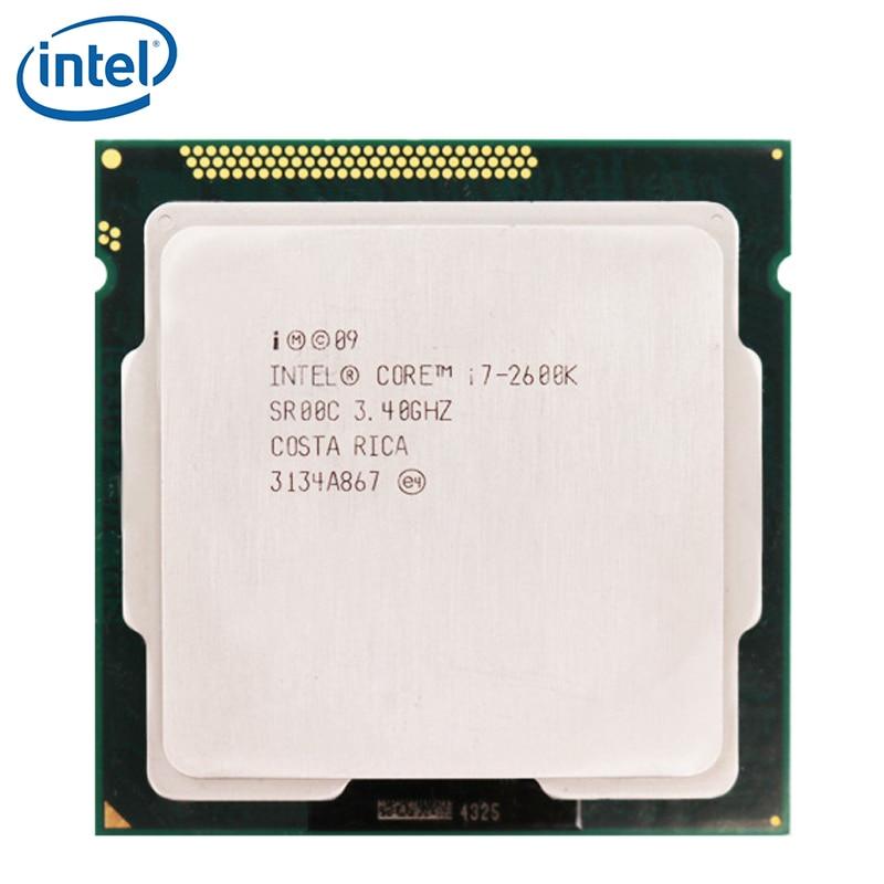 Intel Core i7-2600K i7 2600K 3.4GHz Quad-Core CPU Processor 8M 95W LGA 1155 tested 100% working 1