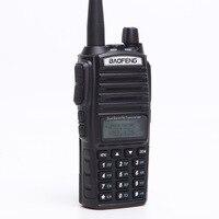 "baofeng uv Baofeng UV-82 מכשיר הקשר Dual-Band 136-174 / 400-520 MHz FM 5 וואט סוללה 2800mAh Ham Waterproof רדיו שני הדרך, מקמ""ש (4)"