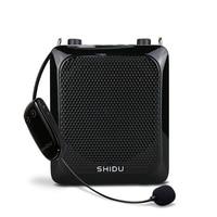 SHIDU S28 25W Voice Amplifier Portable Mini Audio Sound Bluetooth Speaker With UHF Wireless Microphone For Teachers Instructor