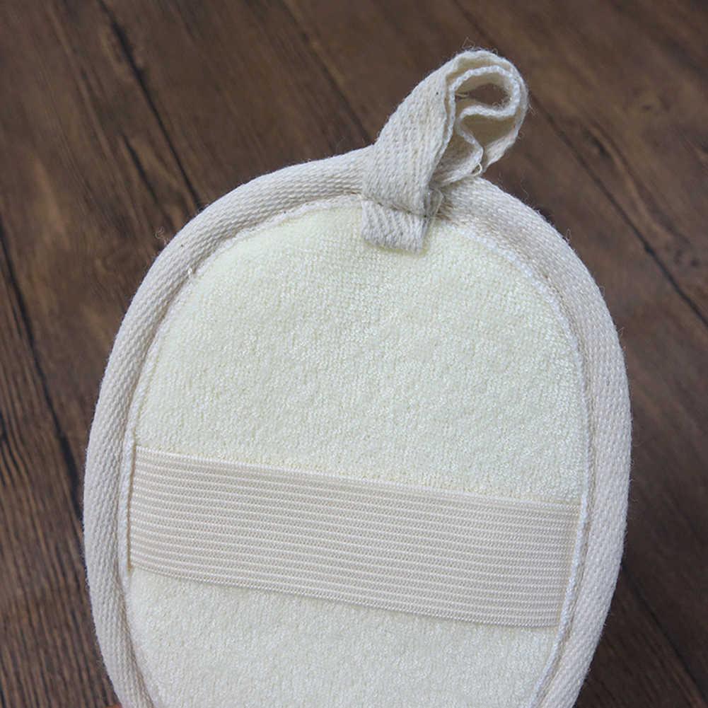 8 قطعة اللوف إسفنجة الاستحمام حمام الإسفنج الجلد الميت مزيل الجسم الوجه نظيفة الغسيل منشفة القماش الجسم غسل