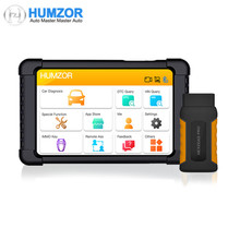 Humzor NexzDAS Pro Bluetooth 10inch Tablet Full System Diagnostic Tool OBD2 Scanner with IMMO/ABS/EPB/SAS/DPF/Oil Reset